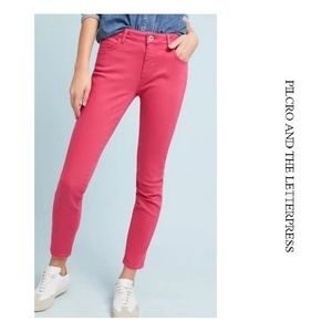 Pilcro Mid Rise Skinny Jeans